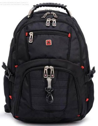 Victoriacross 12-14 Inch Laptop Macbook Backpack With Audio Interface. Notebook Tablet Computer,Knapsack,Rucksack Bag Comfortable Back Ergonomic Shoulder Straps For Man Woman Travelling,Camping,Hiking Business And Casual Travel School Vc14Hs2-Black