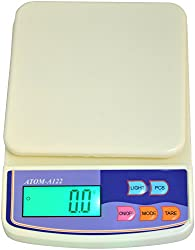Atom A-122-1 Plastic Kitchen Weighing Scale, 5 kg