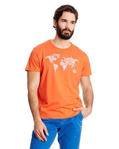 National Geographic T-Shirt Manica Corta [Arancione]