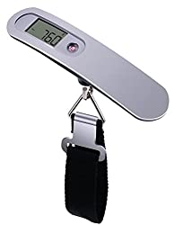 Di Grazia Portable Durable Handheld Digital Electronic LCD Display Luggage Weighing Scale w/ 50 Kgs Capacity