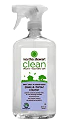 Martha Stewart Clean Glass & Mirror, 32-Ounces Spray Pump Bottles ( Pack of 6 )