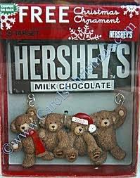 Hershey's christmas 2003 ornament