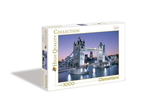 Clementoni Puzzle 33527 - London - Tower Bridge -  3000 pezzi High Quality Collection