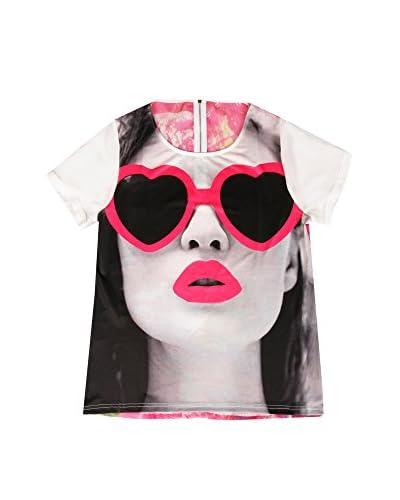 LOLA CASADEMUNT Camiseta Manga Corta Blanco