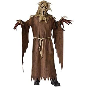 Scarecrow Ghost Face Costume - Large