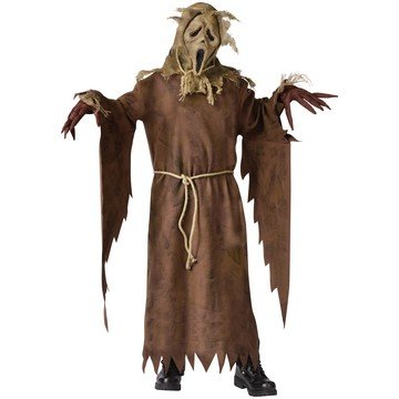 Scarecrow Ghost Face Costume - Medium