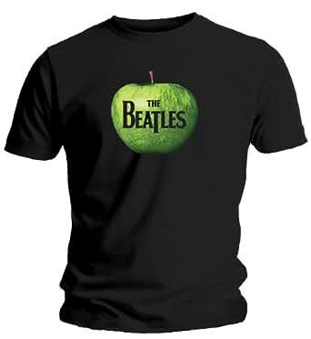 Bravado Apple Logo,T-Shirt The Beatles, Größe l, Schwarz