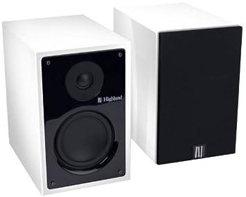 Highland Audio 3760108803633 Enceinte pour MP3 & Ipod Blanc