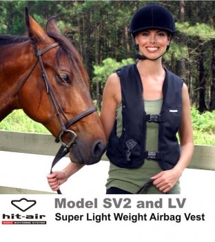 Hit-Air Airbag Vest Light Weight (LV) (Protective Horse Riding Vest compare prices)