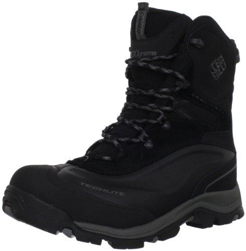 Columbia Men's Buga Plus Snow Boot,Black/Gunmetal,15 W US