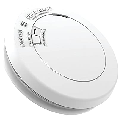 First Alert PRC710 10-Year Combination Carbon Monoxide and Photoelectric Smoke Detector from BRK