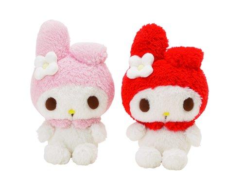 Hello Kitty Mascot Plush - Pink Melody Small (Random Color)