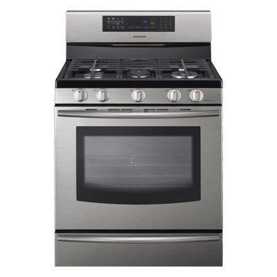Samsung-FX710-30-Freestanding-Gas-Range-with-5-Burners-and-Safety-Lock