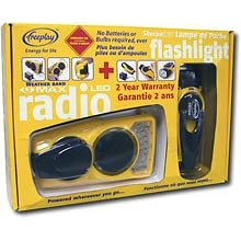 Freeplay Emergency Radio and Flashlight Kit
