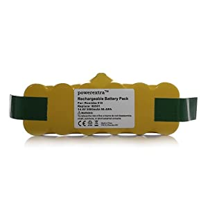 Powerextra™ Roomba 3500mAh Replacement Battery for iRobot Roomba Discovery 500 Series Robotic Vacuums by Powerextra™