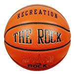 Anaconda Sports® The Rock® MG-4500-PC-RECR Deep Pebble Channel Composite Leather Women's Recreational Basketball with Core 2 Cover Technology