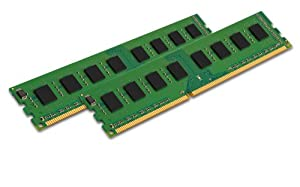 Kingston Technology 16GB Non-ECC CL11 DIMM 1600MHz DDR3 RAM (KVR16N11K2/16)