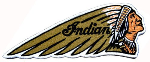 Native American Indian Chopper Motorcycle Biker DIY Applique Embroidered Sew Iron on Patch (Hat American Chopper compare prices)