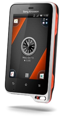 Buy Sony Ericsson St17a-bko Xperia Active Android Unlocked Smartphone With 5mp Camera, Touchscreen, Wifi, Gps – Us Warranty – Black/orange
