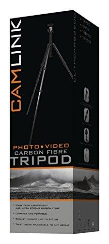 Camlink 1.40m Carbon Fibre Tripod