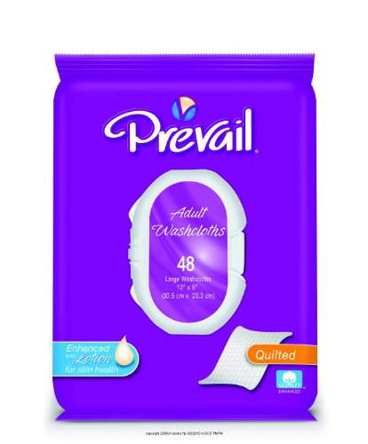 Prevail Premium Adult Washcloths [Prevail Prem Wshclth Sft Pk]