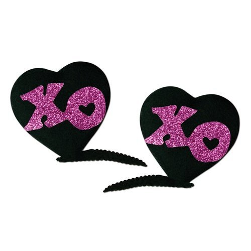 XOXO Hair Clips   (2/Pkg) - 1