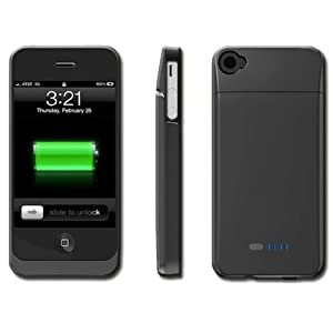 BOOST Case - Protective Case & Extended Battery for iPhone 4