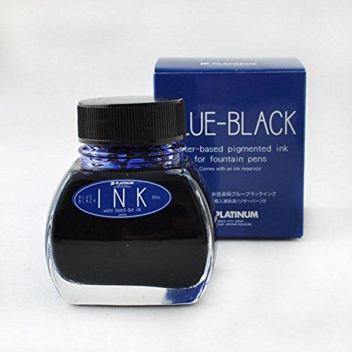 プラチナ PLATINUM 万年筆用 ボトルインク 60ml ブルーブラック PLA-INK-1200-3