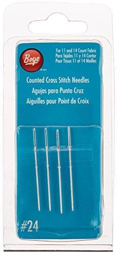Cross Stitch Hand Needles-Size 24 4/Pkg