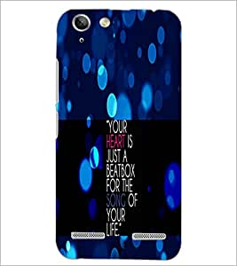 PrintDhaba Quote D-2905 Back Case Cover for LENOVO VIBE K5 PLUS (Multi-Coloured)