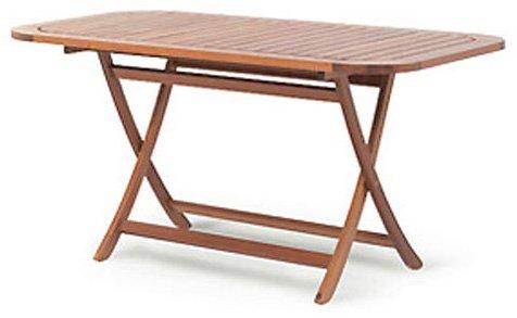 Rotimber-Tisch 140x90cm oval lasiert