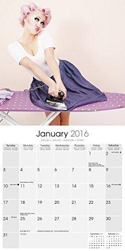 Retro Pin Ups Calendar 2016
