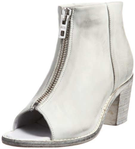 DIESEL - Stivali Peep toe da Donna COX - Bianco (White T1003), 36