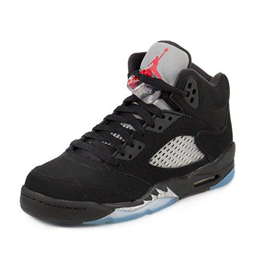 nike-uomo-air-jordan-5-retro-og-bg-scarpe-da-basket-nero-size-39