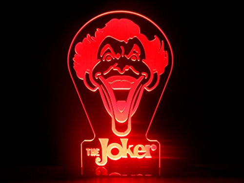 The Joker LED Night Light Desk Lamp DC Comics Batman Room Decor