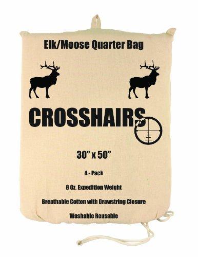 lewis-n-clark-crosshairs-30-x-50-inch-8-ounce-elk-moose-quarter-bag-by-lewis-n-clark