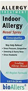 Bioallers Indoor Allergy Nasal Spray, 0.8-Ounce