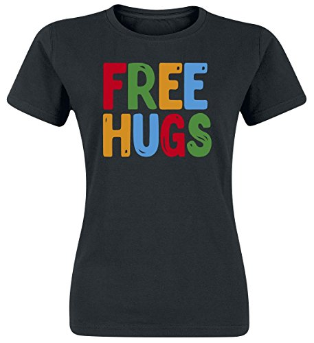 Free Hugs Maglia donna nero S