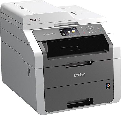 Brother DCP-9020CDW Stampante Multifunzione, a Colori, con Fronte/Retro Automatica, Duplex, USB e Wi-Fi