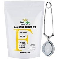 TeaRaja Kashmiri Kahwa Green Tea- 100 Gm (Free-Tea Infuser)