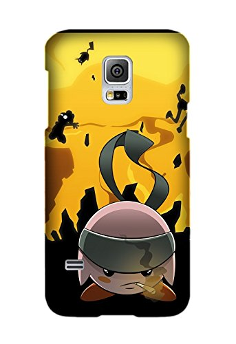 Samsung Galaxy S5 Case, Protective Case Bumper Scratch-Resistant Perfect Fit Ultra Slim Game Kirby Case for Samsung Galaxy S5 Design by [Josh Mickelson] (Kirby Galaxy S5 Case compare prices)