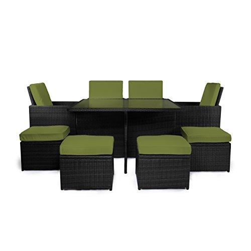 Vanage-Gartenmbel-Sets-GartengarniturGartenmbel-Chill-und-Lounge-Set-Sydney-schwarz-grn