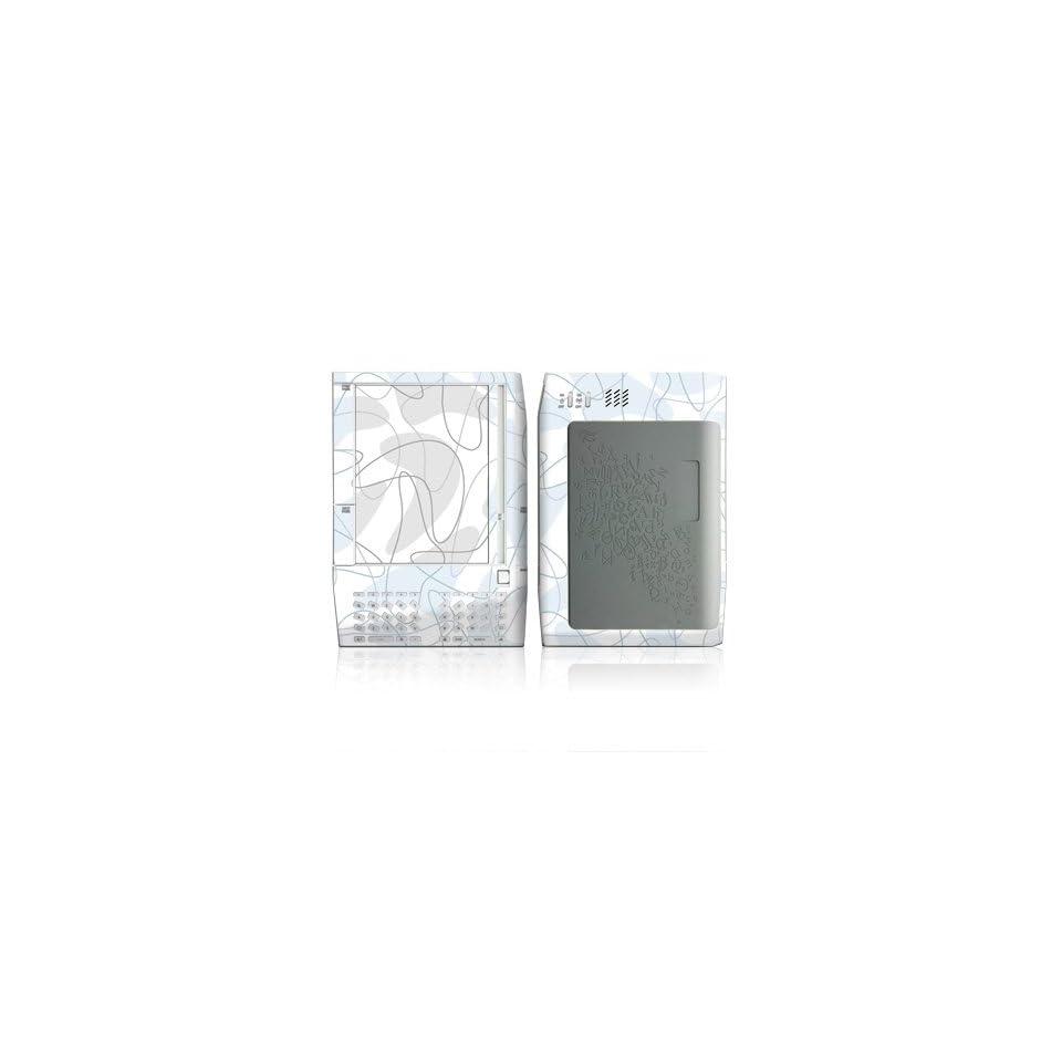 Boomerang Blue Design Protective Decal Skin Sticker for  Kindle E Book Reader (Version 1.0)