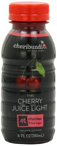 Cheribundi Skinny Cherry, Tart Cherry Juice Light, 8-Ounce (Pack of 12)