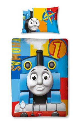 Character World 125 x 150cm Thomas and Friends Power Junior Panel Duvet Set, Multi