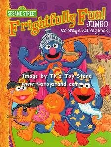 [Sesame Street Halloween Jumbo Coloring & Activity Book] (Halloween Sesame Street)