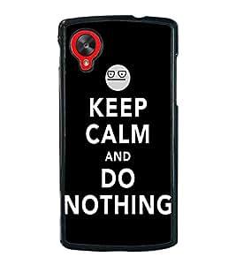 Fuson Premium 2D Back Case Cover Do nothing With Multi Background Degined For LG Google Nexus 5::LG Google Nexus 5 (2014 1st Gen)
