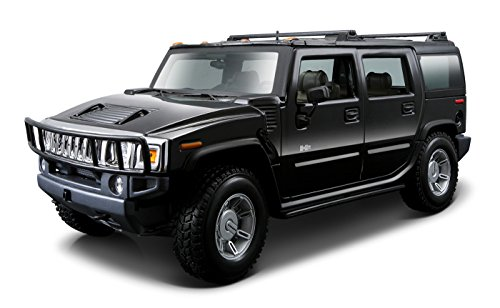 Maisto 1:18 Scale 2003 Hummer H2 SUV Diecast Vehicle (Hummer Scale compare prices)