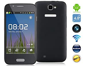 "GT-A7100 4.0"" Android 4.04 SC6810 1.0GHz Smartphone with Wi-Fi, JAVA, Camera, Capacitive Touch (Black)"