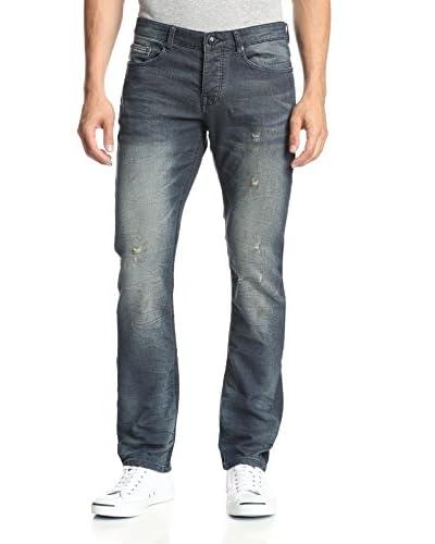 Stitch's Men's Barfly Slim Straight Distressed Jean